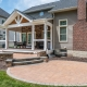 Paver patio area for entertaining in Springfield