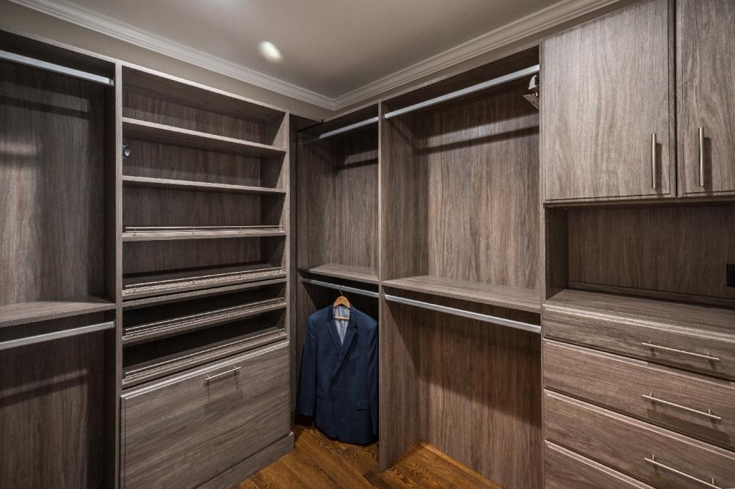 Alexandria, VA closet organization master suite remodel