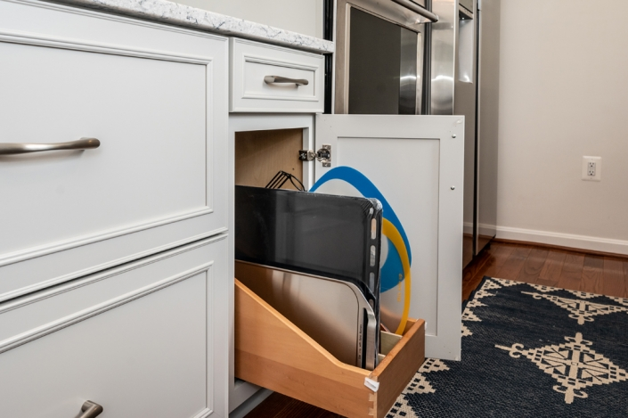 custom cabinets foster remodeling solutions kitchen remodel with pull out tray storage