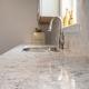 Kitchen Remodeling, Alexandria, VA Silestone countertops in Pietra with Moen faucet