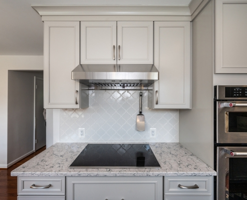 kitchen remodel after pics- cooktop