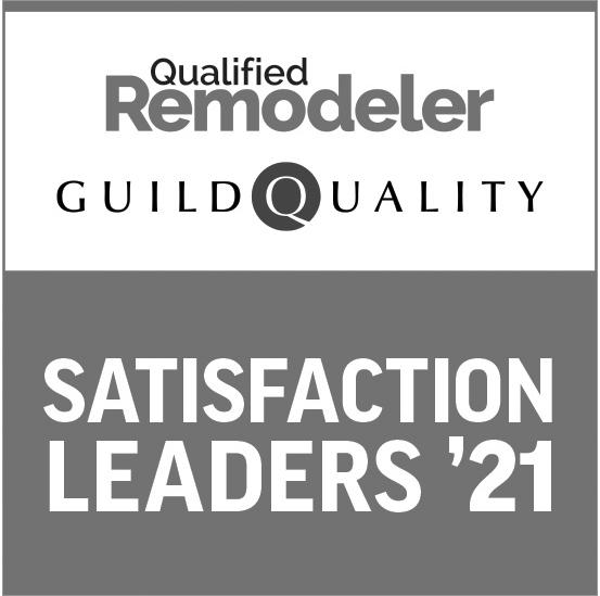 guild quality satisfaction leaders 2021 award logo