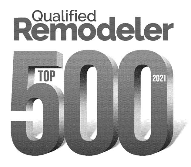 qualified remodeler top 500 logo award